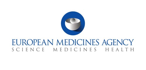 The logo for the European medicines agency