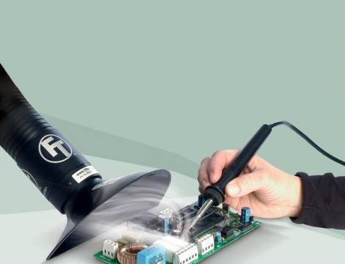 Fume Extraction nozzle for hand soldering